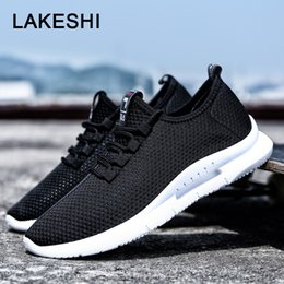 breathable mesh shoes men casual Australia - 2019 New Mesh Men Casual Shoes Lac-up Men Shoes Lightweight Comfortable Breathable Walking Sneakers Tenis Feminino Zapatos