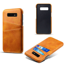 SamSung wallet phone caSeS online shopping - Premium Leather phone case for Samsung galaxy S10 lite S10 S10 plus Slim Protective cover for iPhone XS plus with card slot