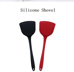 kitchen turners Australia - 1 PCS Silicone Shovel Turner Kitchen Cooking Tools Non-Stick Cooking Spatula Pancake Frying Pan Shovel Silicone Cooking Utensils