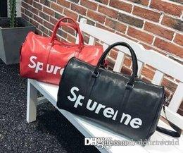 2f45597ad360 LOUIS VUITTON Supreme keepall 45cm travel bag luggage package MICHAEL V16 KOR  shoulder bag classic messenger package 100%enuine Leather handbag clu G MK  AJ ...