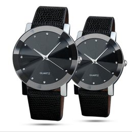 Men Women Couple Watches Australia - Fashion Watches Diamond Point Drill Scale Watch Meteor Radiation Men And Women Couple Watches Diamond-Shaped Leather Watch saat