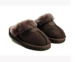 $enCountryForm.capitalKeyWord Australia - High quality Australia WGG Warm cotton slippers Men And Womens slippers Short Boots Women's boots Snow boots slippers Leather boot