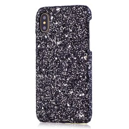 Wholesale Bling Powder Glitter Phone Case for Iphone X XS MAX XR s S Plus Cellphone Luxury Designer Sparkle Rhinestone I Phone plus Cover