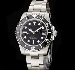 Ingrosso Il commercio all'ingrosso guarda gli uomini guardano gli orologi meccanici mens degli uomini automatici di alta qualità dell'acciaio inossidabile