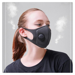 Mouth Muffle Face Mask Australia - Face Masks PM2.5 Mouth Mask Breath Valve Anti Haze Disposable Mask Anti Dust Mouth-muffle Respirator Face masks Cycling Caps
