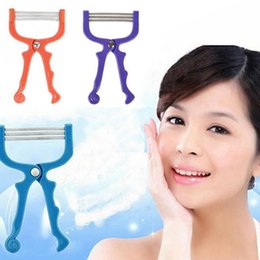 Diy springs online shopping - Facial Epilator Face Body Hair Remover Threading Epilator DIY Beauty Tools Spring Face Hair Defeatherer Tools LJJR1031