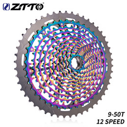 $enCountryForm.capitalKeyWord Australia - ZTTO MTB 12-speed 9-50T cassette tape ultimate XD box rainbow K7 375g 12V ULT cassette tape ultra-light 12s cassette tape 1299 k7 gear