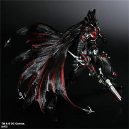 $enCountryForm.capitalKeyWord Australia - Play Arts Kai DC Comics Variant the Batman Red Costume Action Figure Superhero Model Toy