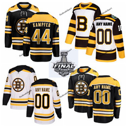 6a6a6ddd7ea 2019 Stanley Cup Final Boston Bruins Steven Kampfer Hockey Jerseys Mens #44  Steven Kampfer Black Stitched Shirts Custom Name Number
