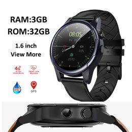 $enCountryForm.capitalKeyWord Australia - Smart watch 3GB+32GB 1.6 inch IP67 waterproof GPS camera watch heart rate sports support sim card smartwatch pk allcall w2