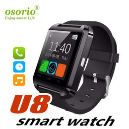 note smart watch NZ - Bluetooth Smart Watch WristWatch U8 UWatch Unisex for Samsung Xiaomi Huawei S4 Note 2 Note 3 HTC LG Android Smartphones 2019 New