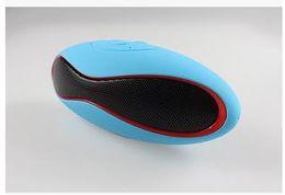 $enCountryForm.capitalKeyWord Australia - Mini Portable Wireless Bluetooth Mini-X6U Rugby Football Stereo Speaker X6U Car Handsfree Bluetooth Speaker With TF AUX USB FM column speake