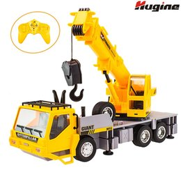 nitro rc cars engines Australia - RC Truck Crane Remote Control Hoist 1:26 Wireless Construction Vehicle Engineering Heavy Duty Electronic Toy Model Hobby For Kid Y200413