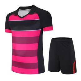 $enCountryForm.capitalKeyWord UK - Women Men Badminton Tennis Clothing Table Tennis Shirt+Shorts Sport Clothes Set Breathable Quick Dry Sport Suits