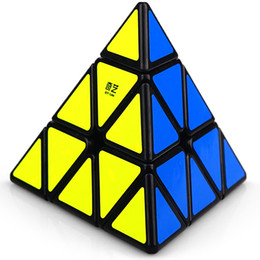 $enCountryForm.capitalKeyWord Australia - Qiyi Qiming Speed Magic Cube Pyraminx Speed Cube Magic Bricks Block Brain Teaser New Year Gift Toys for Children