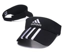 2019 novo designer de chapéu de golfe pala de sol sunvisor chapéu de festa boné de beisebol chapéus de sol protetor solar chapéu de Tênis Praia elástica chapéus frete grátis em Promoção