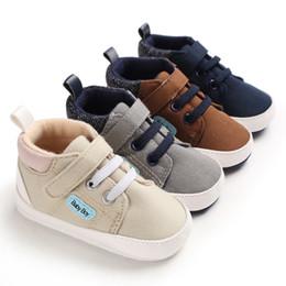 $enCountryForm.capitalKeyWord Australia - 2019 Infant First Walkers Newborn Baby Shoes Tollder Anti-Slip Canvas Shoes Baby Girls Sneaker Prewalker 0-18M