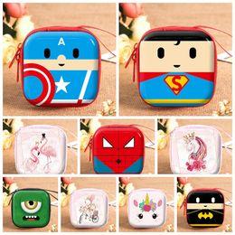 $enCountryForm.capitalKeyWord Canada - Wallet Coin Bag Cartoon Student Coin Storage Bag Bluetooth headset candy storage box Storage Bag Kids Purse PU Handbags Boutique gift shop