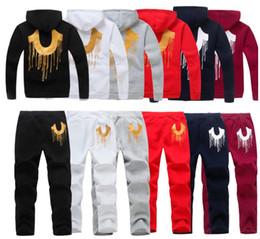 $enCountryForm.capitalKeyWord NZ - New Fashion Men's Tracksuits Hoodies jackets streetwear Men designer hooded Sports jogging Sweat suit baseball Sweatshirt coats