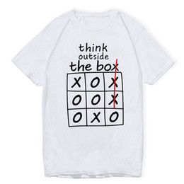 Tees Box Australia - Think Outside The Box Funny T-shirts Men T Shirts Brand Fashion Mens Tshirts Summer Tee Shirt Men Hip Hop Fashion Casual