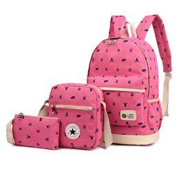 Discount backpacks princesses - Canvas Women Backpack Children School Bags Girls Backpack Kids Princess School Set Mochila Infantil Primary Schoolbag