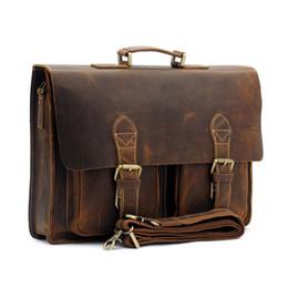 434cf35168ca 2018 Сумка мужская сумка Crazy Horse натуральная кожа Сумка мужская сумки  мужской старинные Crossbody сумки кожа