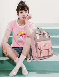 Discount teenage girl shoulder bags - Teenage backpacks student leaning bags Waterproof Backpack Travel Bag Women Large Capacity brand Bags For school Girls d