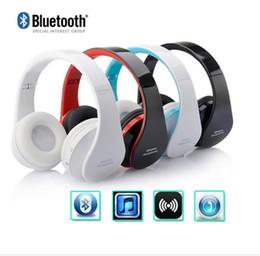 $enCountryForm.capitalKeyWord Australia - Hot sale Wireless Headphone Bluetooth Headphone With Card FM earphone head-mounted Foldable Headset with DHL free shipping