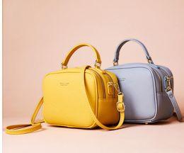 Bolsos y monederos de lujo simples bolsas de mujer diseñador de moda con cremallera de cuero Hombro Crossbody Tote en venta