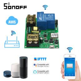$enCountryForm.capitalKeyWord NZ - Sonoff Wifi Switch Wireless Relay Module USB DC5V AC85-250V 30ASmart Home Automation Modules APP Remote Control Switch