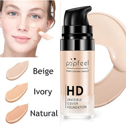 $enCountryForm.capitalKeyWord NZ - DHL FREE 15ml HD Professional Makeup Liquid Foundation Long Lasting Waterproof Base Flawless Cover Pores Wrinkle Freckle Firm Face Concealer