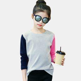 5aa1aa360736 shirts for teen girls 2019 - Girls T-Shirt Autumn T-shirt For Girls. Girls T -Shirt Autumn T-shirt For Girls Long Sleeve Patchwork Casual ...