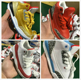 athletic kid shoes Australia - Aair 6 JORDAN 1 3 Athletics youth boys basketball shoes Cement retro Katrina Fashion Casual Sports 3s III Trainer Sneakers kid shoes kjgKIX
