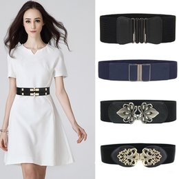 $enCountryForm.capitalKeyWord Australia - New Style Waistbands Women cummerbunds Ladies Elastic Belts black Female Wide Waistband Stretch Corset Cinch Apparel Accessories