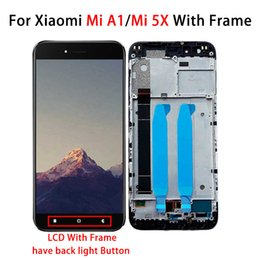 "xiaomi button Australia - 5.5"" For Xiaomi MIA1 MI 5X LCD Display Touch Screen Digitizer Assembly For Xiaomi MIA1 MI 5X With Frame with Back Light Button"