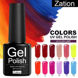 Discount rose art paint - Zation Gel Semi Permanent Uv Paint Gels Varnish Gel Nail Polish Gellak Top Coat Nail Polish Primer Art All for Manicure
