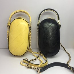 oval evening bag Australia - Oval Shell Hard Crossbody Bags For Women 2019 Small Chain Handbag Lady Clutch PU Leather Hand Bag Ladies Designer Evening Bags