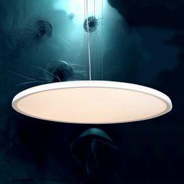 Acrylic Hanging Pendant Light Australia - JESS Creative Circle Acrylic Droplight Modern LED Pendant Light Fixtures For Study Dining Room Simple Hanging Lamp Home Lighting