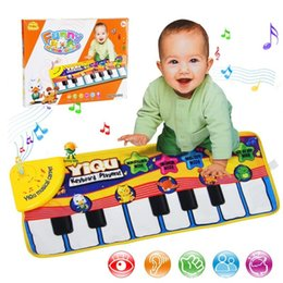 $enCountryForm.capitalKeyWord Australia - Large Baby Musical Carpet Keyboard Playmat Music Play Mat Piano Early Learning Educational Toys For Children Kids Puzzle Gifts Q190604