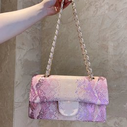 $enCountryForm.capitalKeyWord Australia - Hot Sales Pink Gradient Alligator Leather Crossbody Womens Couples Tide Fashion High Quality Designers Hand Bag Shoulder Bag TSYSBB065
