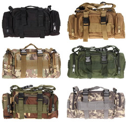 tactical climbing pack Australia - Outdoor Climbing Bags Tactical Backpacks Waterproof Oxford Molle Camping Pack Hiking Waist Bags Travel Shoulder Bag