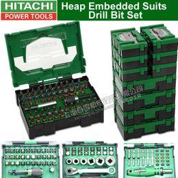 Japon HITAHCI Heap costumes intégrés Jeu de forets Drill tête Jeu de tournevis électrique Bits tournevis tête Accessoires Bit en Solde