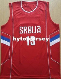 13 RADULJICA Camiseta Canotta Serbia EUROBASKET 2017 Basketball Jersey  Embroidery Stitched Custom any Number and name Jerseys XS-6XL Vest J 8056d1732