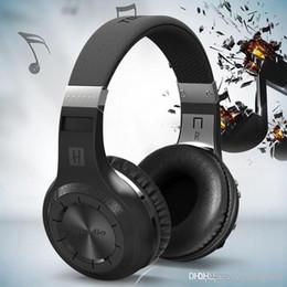 Wireless Usb Music Headphones Canada - 100% Bluedio HT Original Wireless Headband Bluetooth headphones& wireless headset with Microphone for mobile phone music player