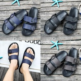 Brown Beach Sandals Australia - good quality designer sandals Brand Slippers Blue black Brown Shoes Man Casual Shoes Slippers Outdoor Beach Slippers EVA light Sandals