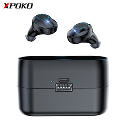 wireless usb music headphones Canada - Touch Control Bluetooth Earphone with 3000mAh Charging Case Wireless Bluetooth Headphones Headset Sports Waterproof Music Earbud