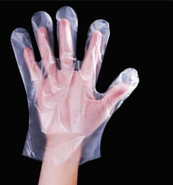 100Pcs Bag Plastic Disposable Gloves Protective Food Prep Gloves for Kitchen Cooking Cleaning Food Handling Kitchen Accessories LJJA4032 on Sale