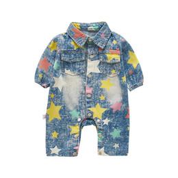 $enCountryForm.capitalKeyWord UK - autumn new fashion baby boys cowboy clothing rompers newborn jeans wear children clothing child spring clothes jumpsuit
