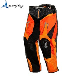 pants motorcycle cross Canada - Orange black Pants For Adults Cross Country Off-road motorcycle riding trousers motocross pants four seasons