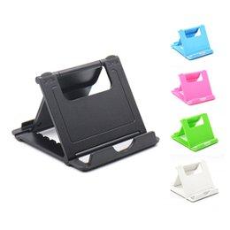 $enCountryForm.capitalKeyWord UK - Foldable Cradle Universal Phone Holder Grip Bracket For Tablet Phone Stand Multi-angle Desktop Holder For Samsung For Iphone X 7